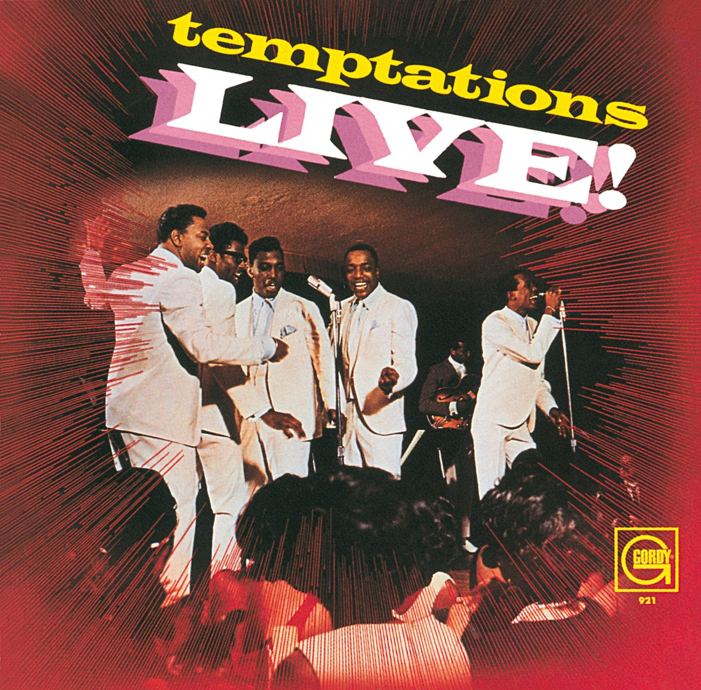 Temptations Live! temptations temptations cloud nine 180 gr