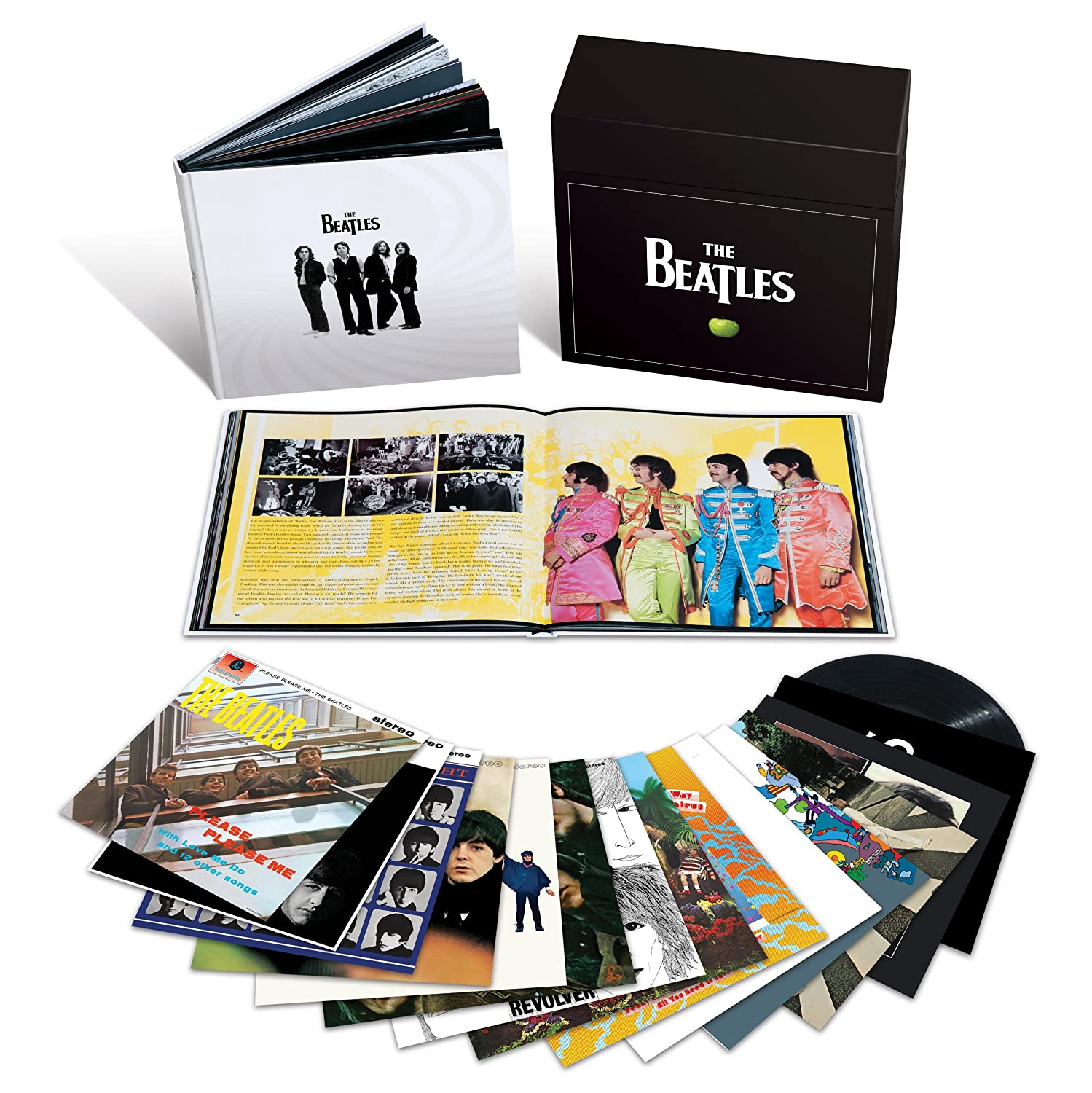 The Beatles Polska: The Beatles Box na winylu