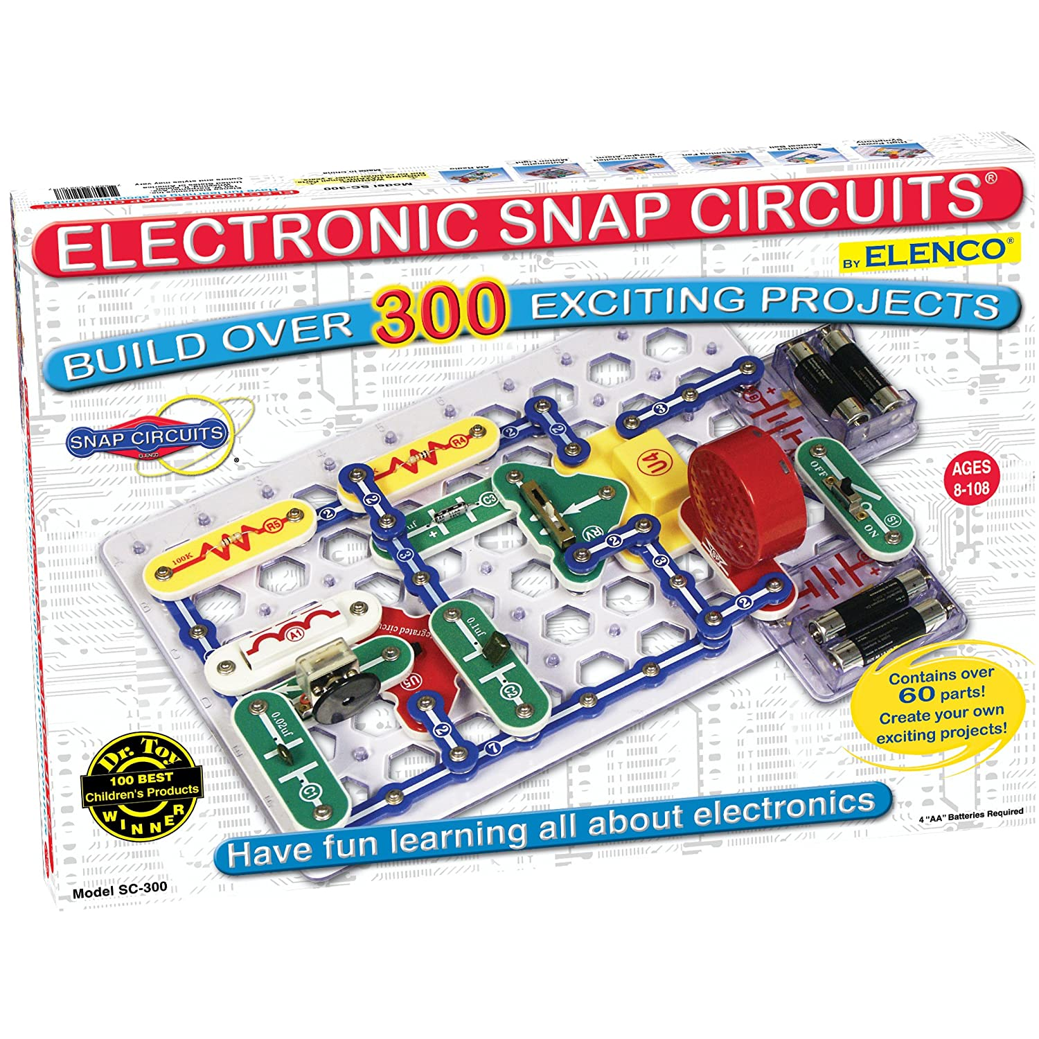 Electronic Toys For Boys : Snap circuits jr wondefrful toy and over