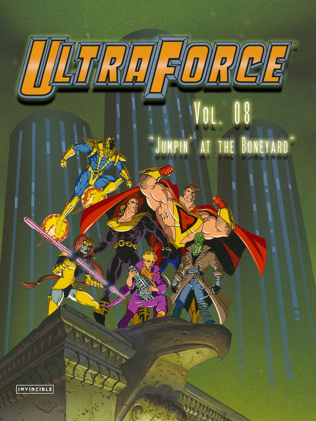 "Ultraforce Vol. 08""Jumpin' at the Boneyard"""