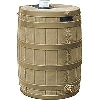Good Ideas RW50-KHA Rain Wizard 50-Gallon Capacity Rain Barrel (Khaki)