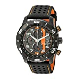 Citizen Men's Eco-Drive Primo Chronograph Sport Watch with Date, CA0467-11H (Color: black, Tamaño: NO SIZE)