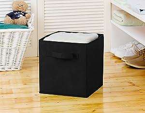 Cube Basket Storage Bin