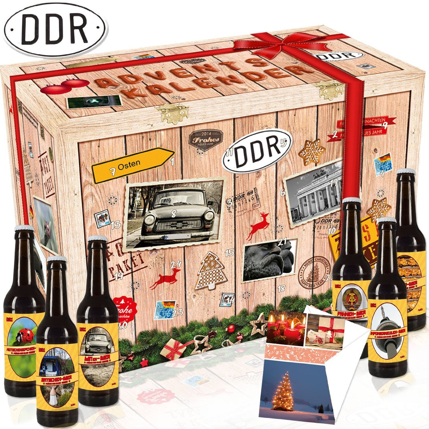 """Adventskalender DDR-Biere"""