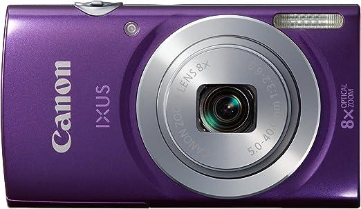 """Canon Ixus 145 Appareil photo numérique compact 16 Mpix Écran LCD 2,7"""" Zoom optique 8X Violet"""