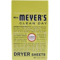 Mrs. Meyers Clean Day Dryer Sheets