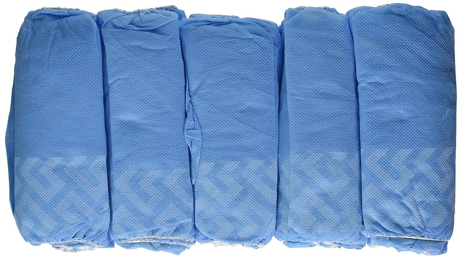Medical Booties Shoe Covers Non Slip Package of 50 Pair - 100 Covers - Blue