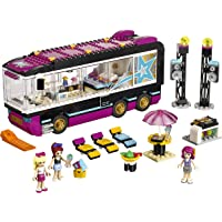 LEGO Friends Pop Star Tour Bus Building Kit