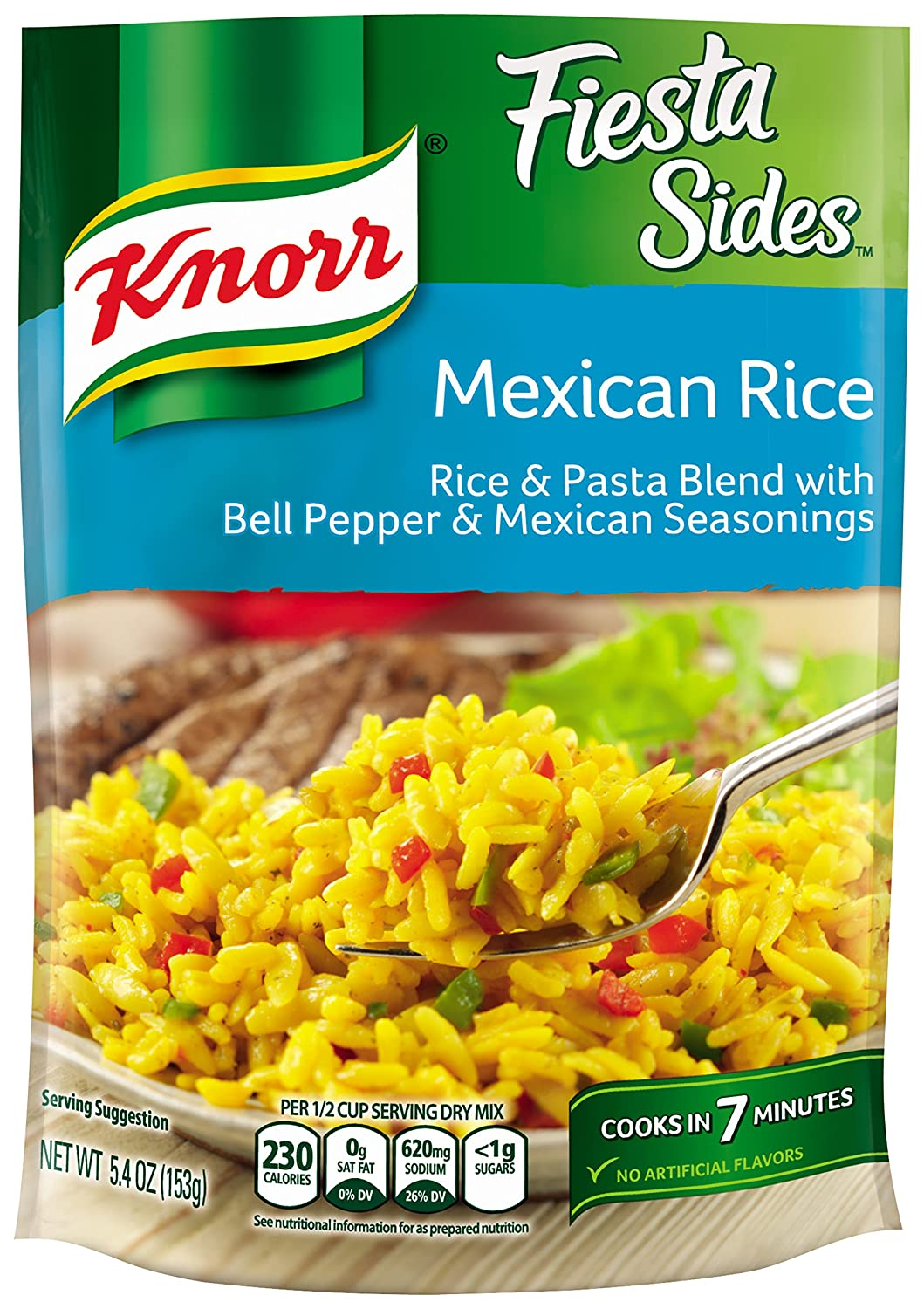 Knorr Fiesta Sides, Mexican Rice, 5.4 Ounce