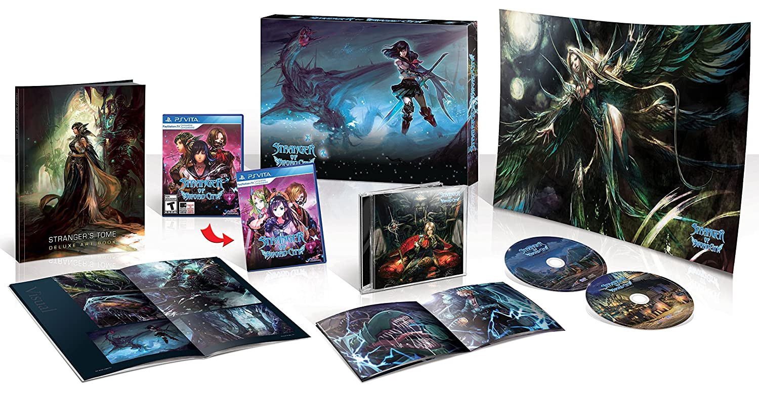 Stranger of Sword City (Limited Edition) - PlayStation Vita