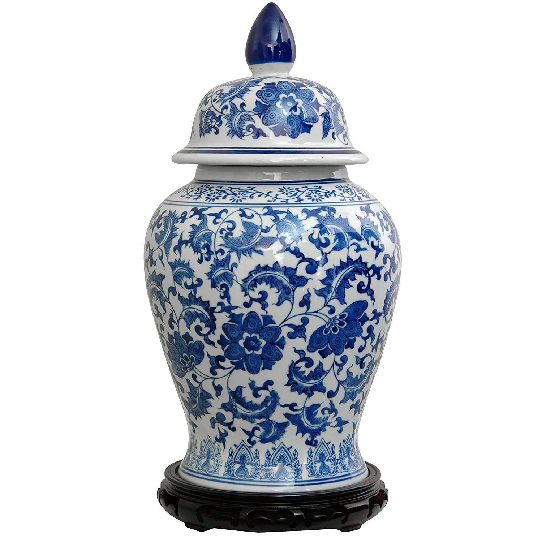 Blue And White Ginger Jars Fel7 Com