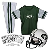 Franklin Sports NFL New York Jets Youth Licensed Deluxe Uniform Set, Large