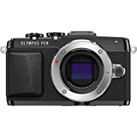 Olympus E-PL7 Full HD 1080p Wi-Fi Mirrorless Digital Camera Body (Black) - Reconditioned
