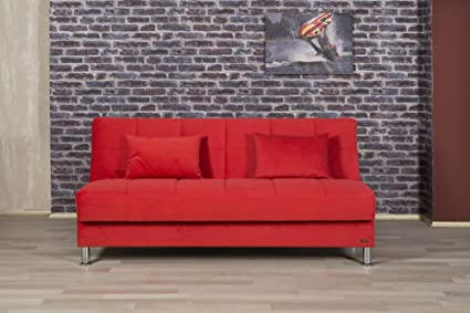 Eco Plus Sofa Bed | Truva Red