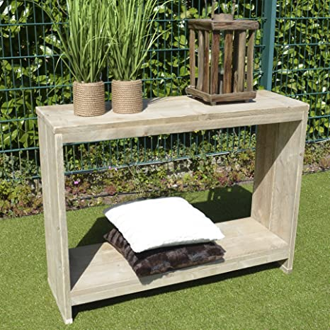 Aparador Muebles Diseño decorativo (Madera 90x 120x 40cm Natural Pequeño Muebles
