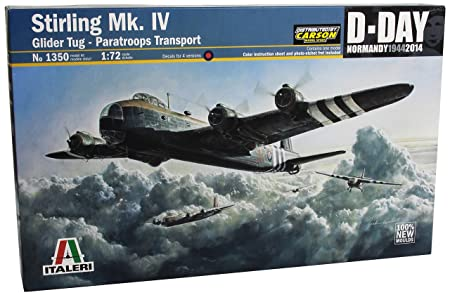 Italeri - I1350 - Maquette - Aviation - Short Stirling Mk Iv