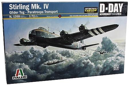 Italeri - I1350 - Maquette - Aviation - Short Stirling Mk Iv