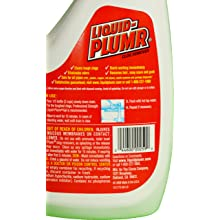 Liquid-Plumr 00259 Drain Maintainer, 40 fl oz Bottle