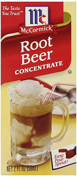 McCormick Root Beer Concentrate, 2-Ounce Unit
