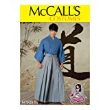 McCall Patterns M7525OSZ Kimono and Pleated Pants, S-M-L-XL-XXL (Tamaño: S-M-L-XL-XXL)