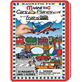 Magnetic Fun - Cars Planes and Trains (Color: Basic Pack, Tamaño: Basic pack)