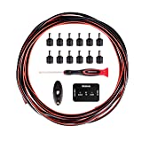 D'Addario Accessories DIY Pedalboard Power Cable Kit (Color: Black)