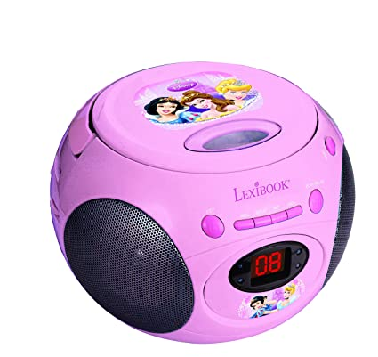 Lexibook - RCD102DP - Radio Lecteur CD Disney Princess