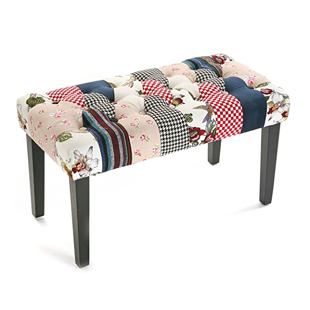 Versa - SGABELLO ROMANTIC PATCHWORK