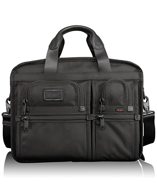 Tumi 途米 Alpha Expandable Organizer Computer Brief 26141 男士公文包