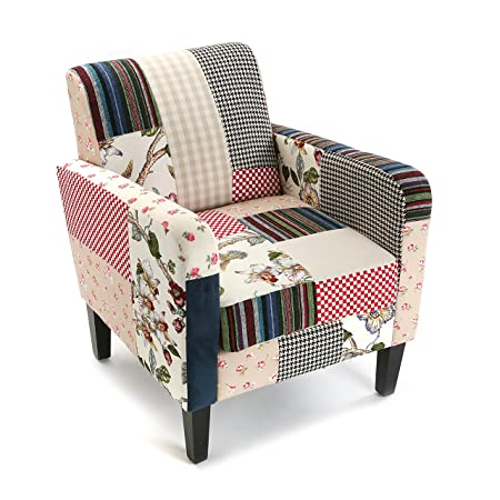 Versa 19500604  -  Romantic Patchwork Sessel