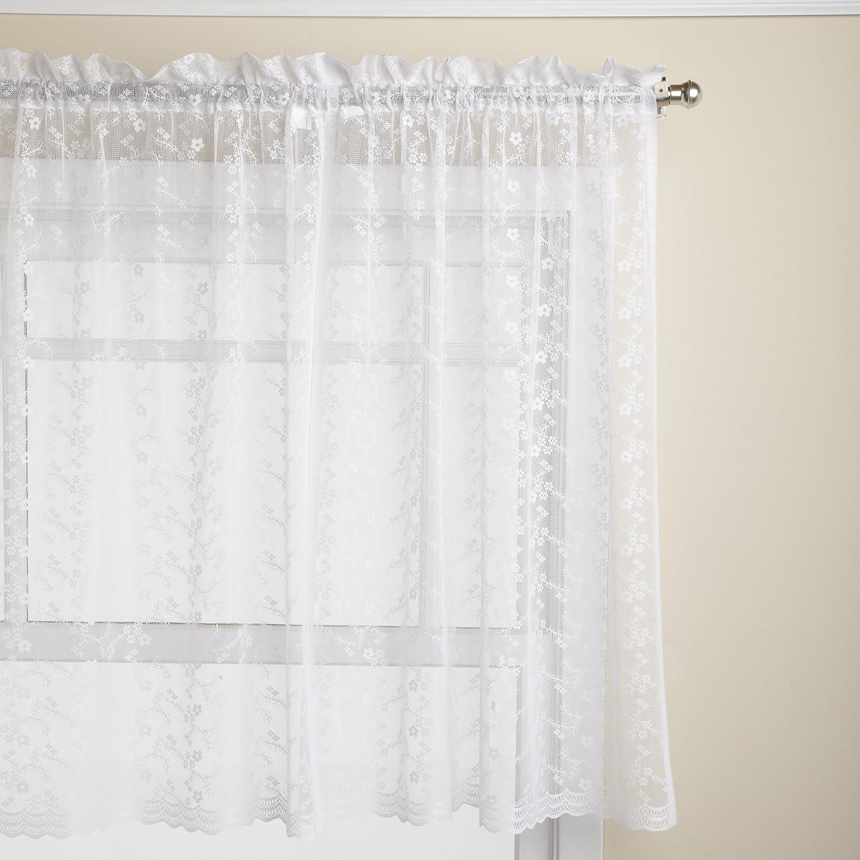 Curtain Pair, White