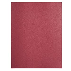 Shimmer Paper - 96-Pack Rose Metallic Cardstock Paper, Double Sided, Laser Printer Friendly - Perfect for Weddings, Baby Showers, Birthdays, Craft Use, Letter Size Sheets, 8.7 x 0.03 x 11 Inches (Color: Rose)