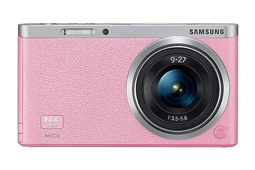Samsung NX Mini Appareil Photo Numérique Compact 20.5 Mpix Wi-Fi Rose