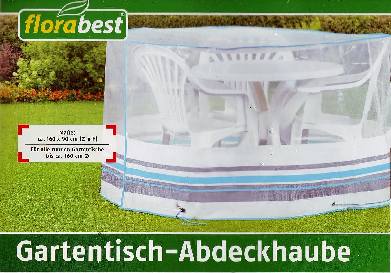 Florabest Gartenmöbel- Schutzhülle 160 x 90 cm Rund Reißfest Witterungs und Uv -beständig
