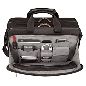 Wenger Luggage Mainframe 15.6 Laptop Brief Bag, Black, One Size (Color: Black, Tamaño: One Size)