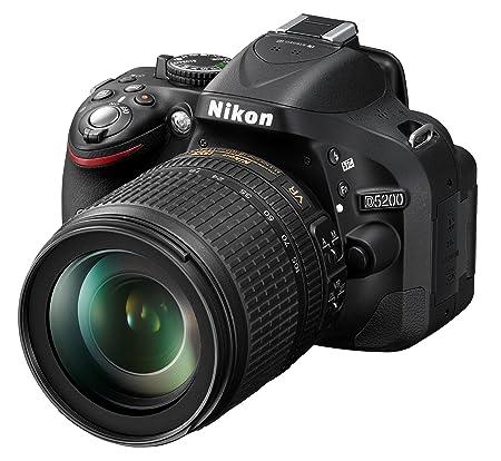 Nikon D5200 Appareil photo numérique Réflex 24,1 Mpix tier + Objectif 18-105mm Noir