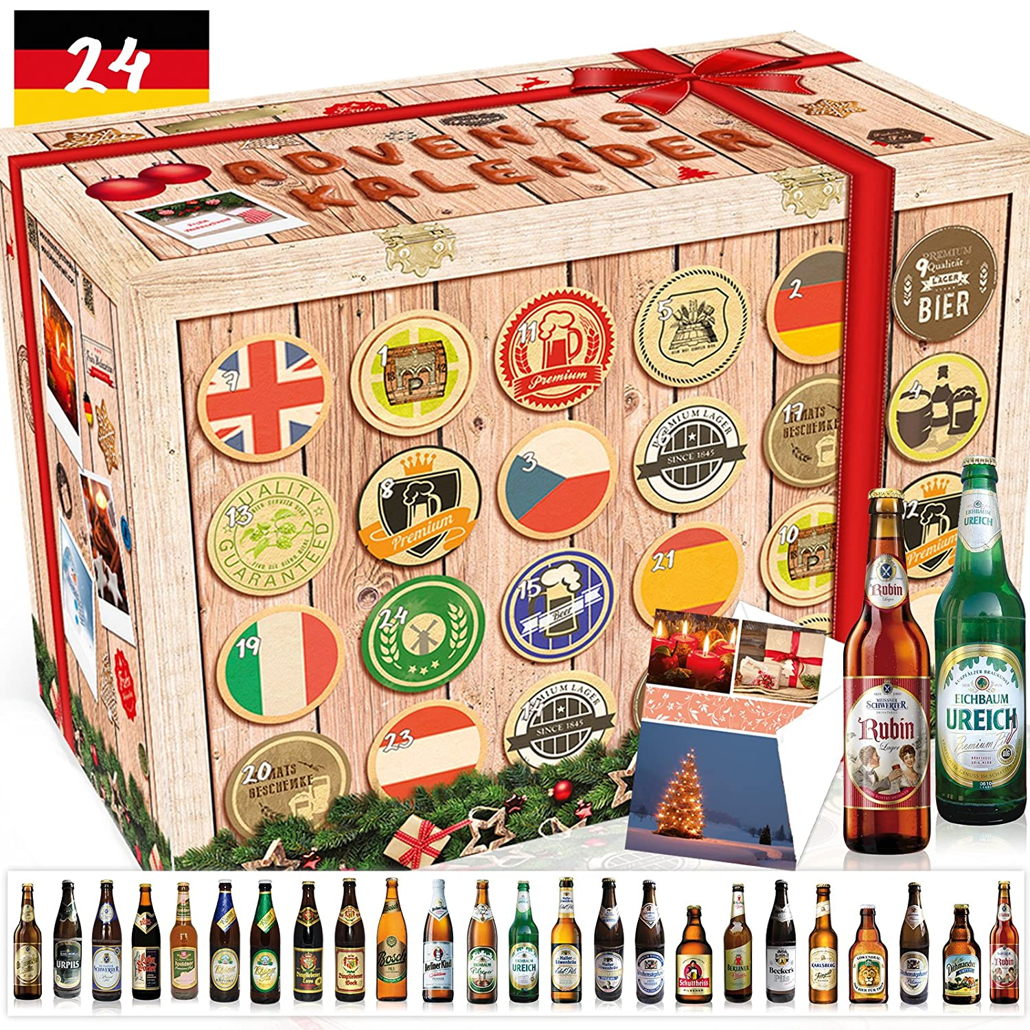 """Adventskalender deutsche Biere"""