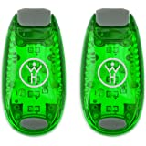 Whole Human LED Safety Lights (2 Pack) - Green