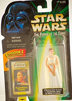 Star Wars Power of the Force Princess Leia in Ceremonial Dress figure