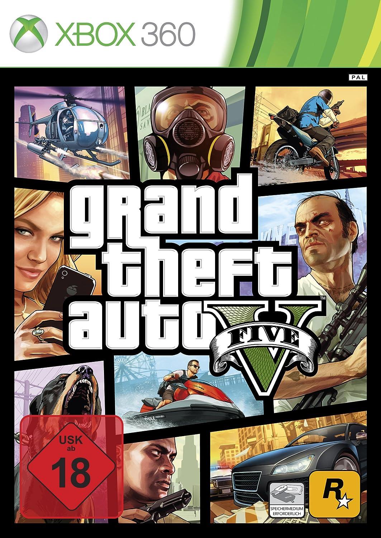 Grand Theft Auto V Xbox PS3