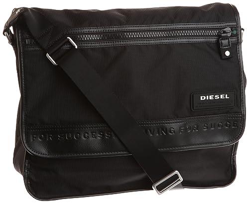 Diesel 迪赛 14寸男士尼龙单肩包,原价0.00,现仅售.81 - 第1张  | 淘她喜欢