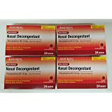 Assured Non Drowsy Nasal Decongestant, 96 Tablets (Compare to Sudafed PE)