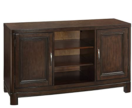 Home Styles Furniture Crescent Hill TV Stand, 56-Inch