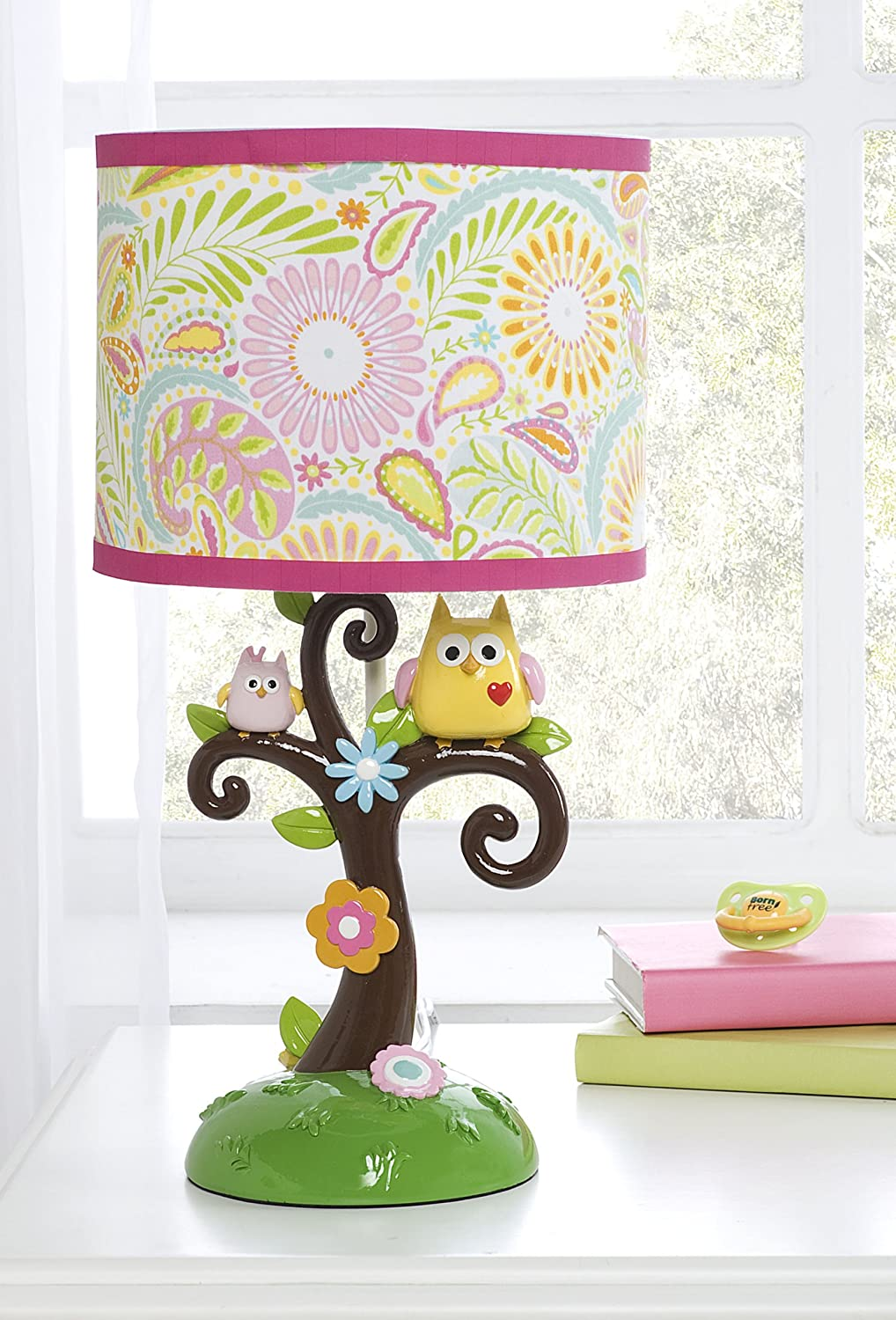 Kids Line Dena Happi Tree Lamp Base and Shade