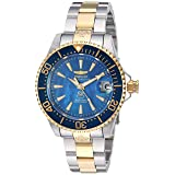 Invicta Women's 'Pro Diver' Automatic Stainless Steel and Silicone Casual Watch, Color:Two Tone (Model: 23309)