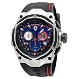 Lamborghini Spyder Red Line Blue Dial Mens Chronograph Watch SPYDER RED LINE 09 (Color: Blue)