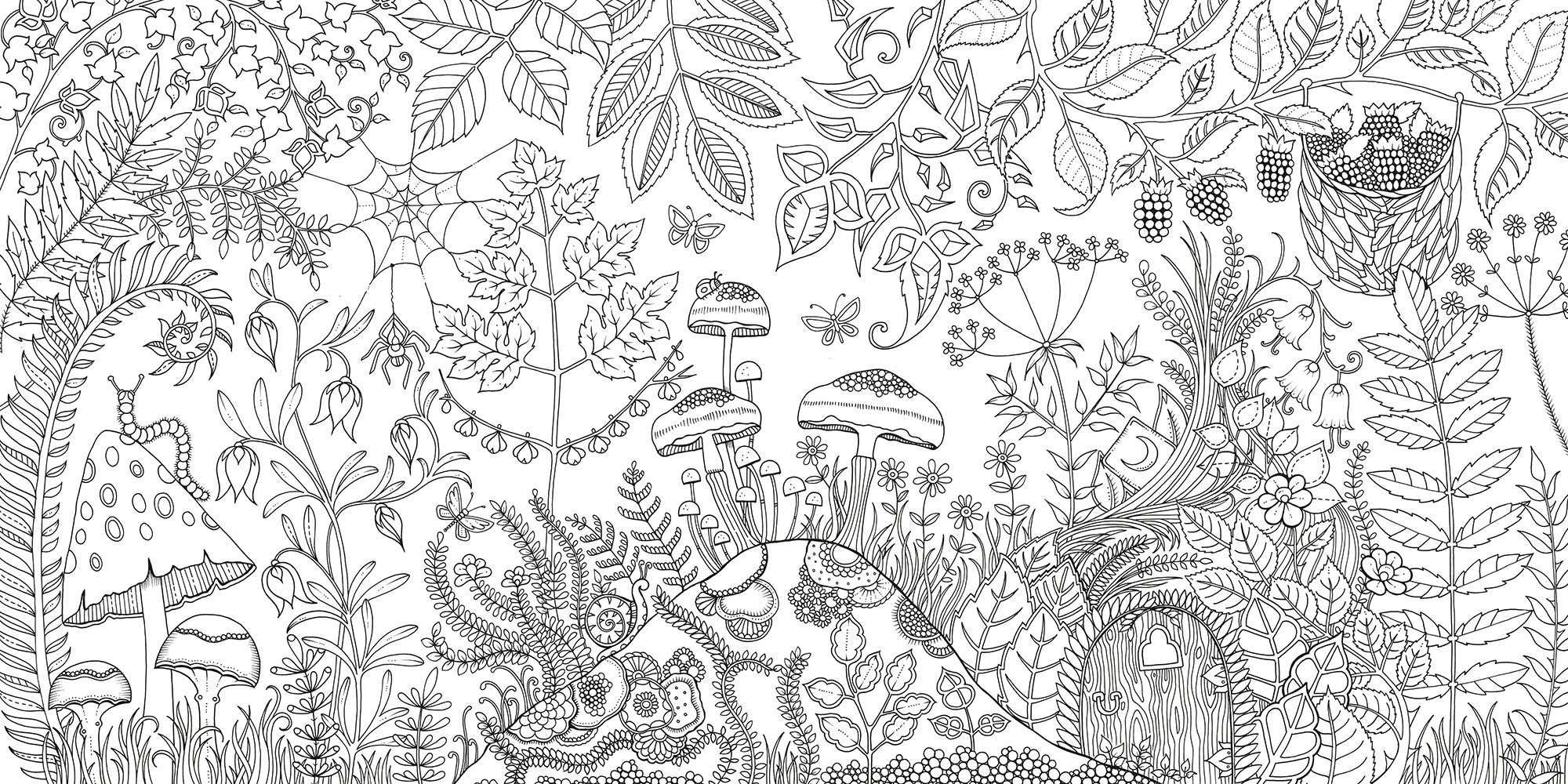 Product DescriptionLast Updated 12 5 2015 113215 PM Enchanted Forest An Inky Quest Coloring Book