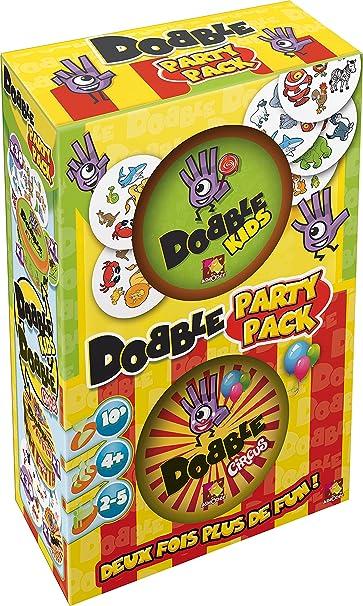 Asmodee - DOBPAR01 - Jeu de Société - Dobble Party
