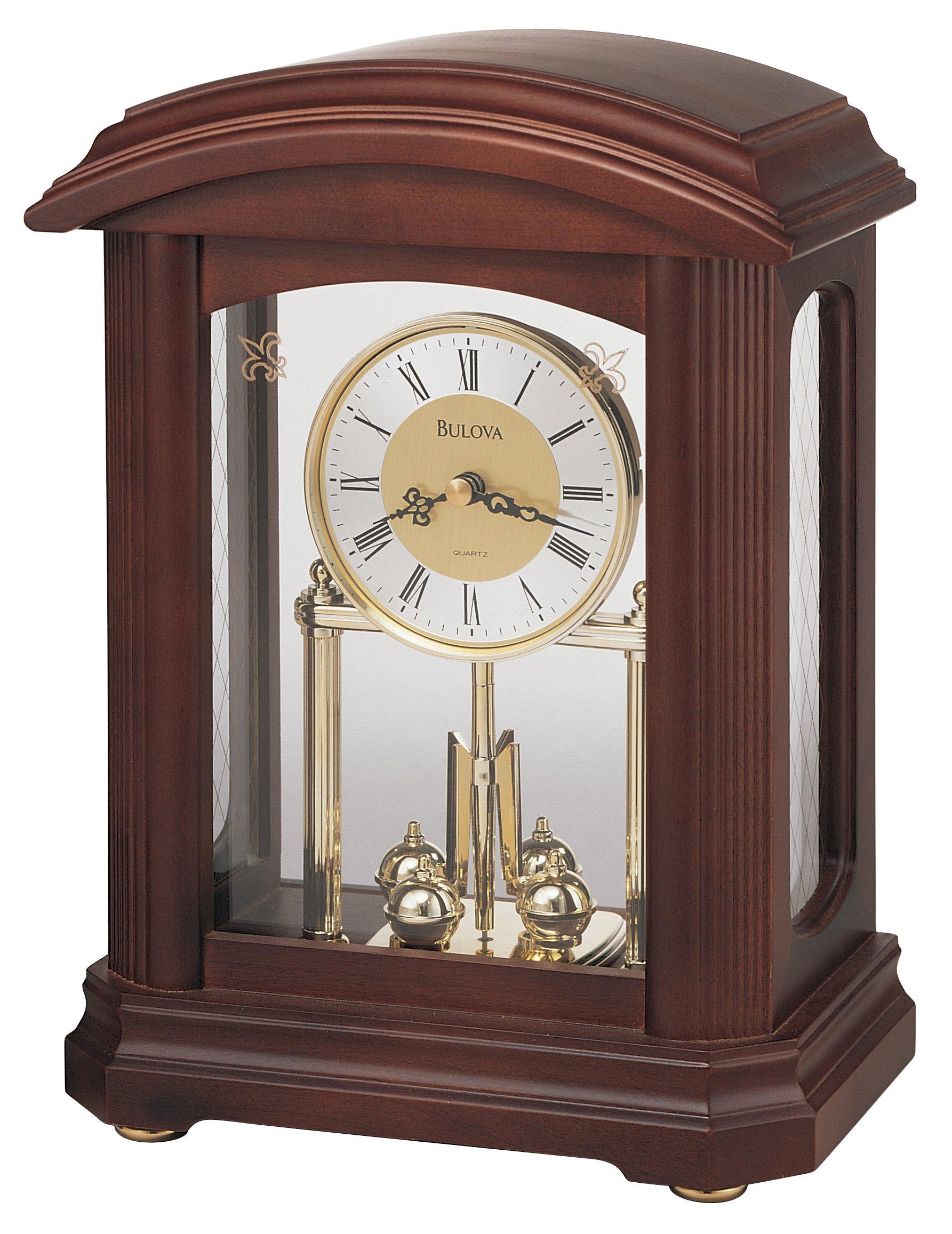 Bulova Nordale Clock  image