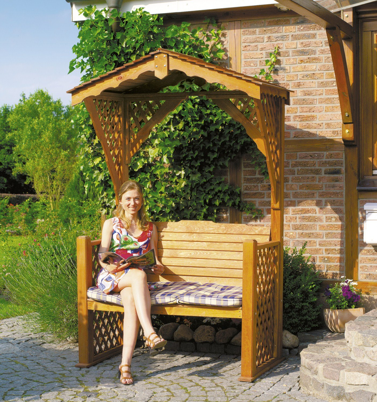 PROMEX Gartenbank Gartenlaube Starnberg bestellen